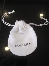 "Pandora Bracelet Gift Bag Genuine Anti-tarnish White Pouch 3"" x  4""  NEW AMAZING - $7.69"