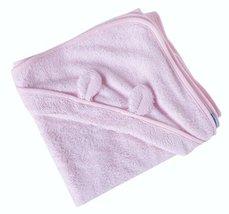 Pink Animal Ear Soft Baby Hooded Bath Towel (9090CM)