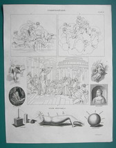 COMPOSITION for Artists & Chiaroscuro - 1820 ABRAHAM REES Print - $12.60
