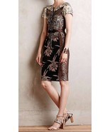 Anthropologie Embroidered Brocade Dress From Beguile by Byron Lars Sz 2 ... - $206.99