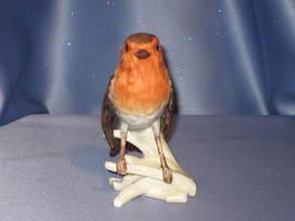 European Robin Bird Figurine by Goebel. - $27.00