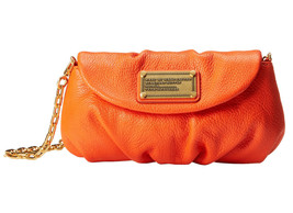 Marc Jacobs Classic Q Karlie Leather Chain Crossbody Clutch ~NWT~ Spiced... - £149.22 GBP