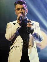 SAM SMITH HAND SIGNED AUTOGRAPHED LARGE 11X14 PHOTO w/COA STAY WITH ME H... - $69.99