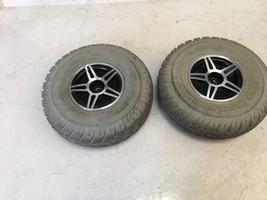 3.00-4 Pr1mo Durotrap Drive Wheels Set from Pride Jet 3 Ultra Power Whee... - $106.91