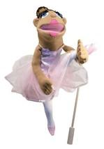 Melissa & Doug Ballerina Puppet - Full-Body With Detachable Wooden Rod for Anima - $21.70