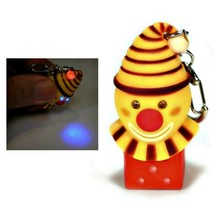 LED CLOWN KEYCHAIN w Light and Sound Fun Laughing Noise Gag Gift Key Cha... - $6.95
