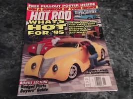 Hot Rod Magazine Vol 48 No 1 January 1995 Cylinder Heads - $2.99
