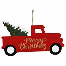 Christmas Holiday Travels Wall Sign Merry Christmas 13.75x7.5 in. w - $8.99
