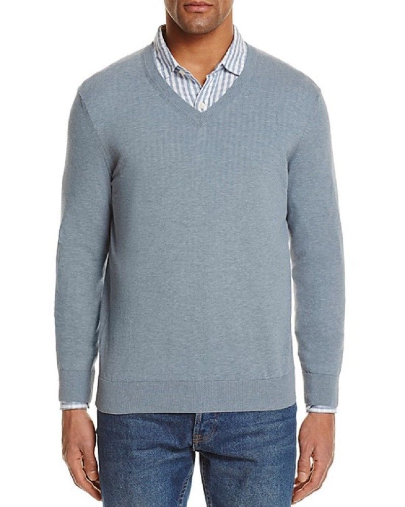 The Men's Store at Bloomingdale's Cotton V-Neck Sweater , Size XL, MSRP $118