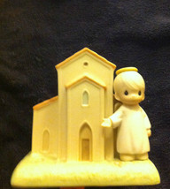 """Preciois Moments Ornaments """"There's A Christian Welcome Here"""" 528021 - $14.84"""