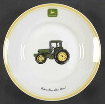"Individual Salad Plate John Deere (Tractor) by GIBSON DESIGNS Width 9""  - $12.19"