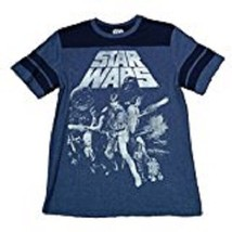Star Wars Retro 1977 Movie Cast Princess Leia Men's SM Navy Graphic T-Sh... - $17.97
