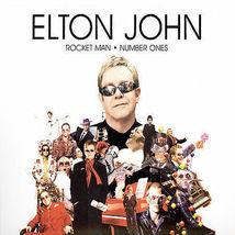 Elton John  (Rocket Man: Number Ones)  CD - $3.50