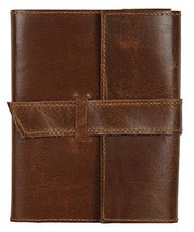 Genuine Leather Handmade Journal to Write in Notebook Refillable Diary f... - $30.95