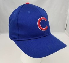 Chicago Cubs Baseball Cap Trucker Hat Mlb Adjustable Blue New Free Shipping - $15.47
