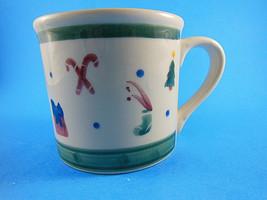 Hartstone Christmas Coffee Mug Made in USA - $11.87