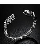 Teen Wolf Head Bracelet Indian Jewelry Fashion Accessories Viking Bracelet - $17.35