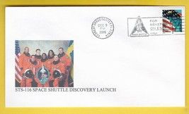 STS-116 SPACE SHUTTLE DISCOVERY LAUNCH KENNEDY SPC CENTER FL DEC 9 2006 ... - $1.78