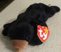 Ty Beanie Baby Blackie 4th Generation Hang Tag PVC Filled NEW - $8.90
