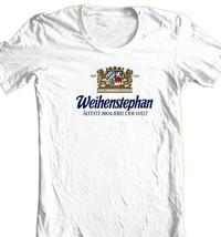 Weihenstephan Bier T-shirt german beer oktoberfest 100% cotton graphic tee image 2