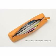 Rhodia Lama round pencil case orange cf318890 - $25.08