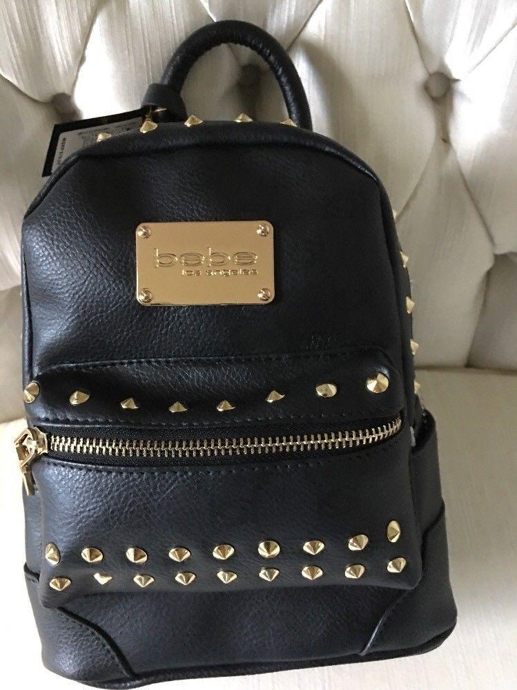 50054190e8f5 Bebe Jett Studded Mini Backpack Crossbody and 49 similar items. S l1600