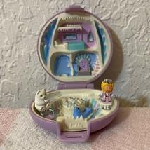 Vintage Polly Pocket Bluebird 1992 Princess Polly's Ice Kingdom Playset Complete - $74.99