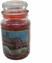 Yankee Candle 2008 Deerfield Village 25 YEARS Macintosh Large 22 oz Red ... - $129.99
