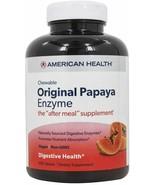 American Health - Original Papaya Enzyme Chewable-250 Tablets EXP 4/23 - $16.82