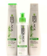 Matrix Biolage Fiberstrong Shampoo & Conditioner 13.5 & Treatment 3 PACKAGE - $42.30