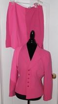 Tahari Arthur S. Levine Pink  Petite 2 Piece Skirt Suit Petite 14P - $89.09