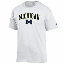 Elite Fan Shop NCAA Men's T Shirt Arch Over White - $40.18