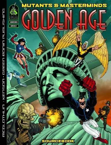 Mutants & Masterminds: Golden Age Sourcebook [Paperback] [Sep 19, 2006] McGlothl