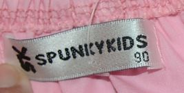 SK Spunky Kids Pink White Ruffle Sun Dress Size 90cm or 2 to 3 Year Old image 4