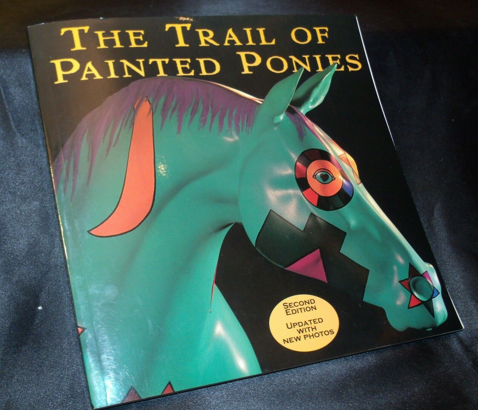 2nd Edition Trail of the Painted Pony Book AA-191999 Collectible  USA