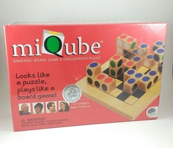 MiQube Strategic Board Game Puzzle BRAND NEW SEALED Ages 7+  - $29.69