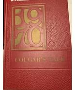 "1970 ELVIRA CASTRO JUNIOR HIGH SCHOOL ""COUGARS"" YEARBOOK, San Jose, Cali... - $24.75"