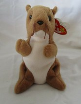 Ty Beanie Baby Nuts the Squirrel 5th Generation PVC Filled NEW - $7.91