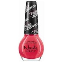 Nicole by Opi Nail Polish Carrie Underwood #U12 Some Hearts (Coral Creme... - $7.91