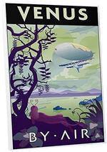 "Pingo World 0209QEXQHDG ""Steve Thomas Venus By Air"" Gallery Wrapped Canv... - $48.46"