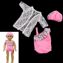 Newest  Bikini/Cap summer Swimming Suit also fit for 43cm Baby born zapf... - $5.55+