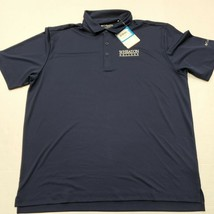 NWT Wheaton College Thunder Blue Columbia Golf Shirt Polo Shirt XL New With Tags - $24.74