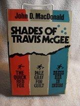 John D. MacDonald SHADES OF TRAVIS McGEE 1969 BCE HC/DJ Very Rare Book [... - $20.38