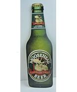 "Vintage MOOSEHEAD CANADIAN LAGER BEER Bottle Metal Sign 24"" Tall ~ 7 1/2... - $59.61"