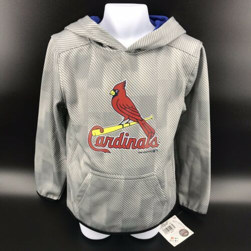 Primary image for St. Louis Cardinals Hooded Sweatshirt Youth Size XS (4/5) NEW With Tags -h