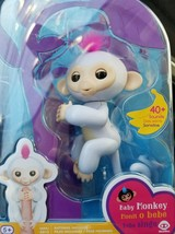 FINGERLINGS Sophie White Interactive Finger Pet Baby Monkey Brand New Au... - $24.31