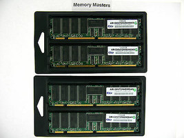 AR128V72N4SMGAS 4GB 4X1GB PC133 ECC Registered CL3 168-Pin DIMM SERVER M... - $99.00