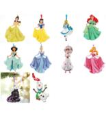 Disney Princess Christmas Ornament Theme Parks New - $39.55+