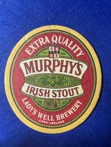 BEER MAT COASTER - TWO SIDED - MURPHY`S IRISH STOUT   (FF266) - $5.43