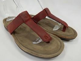 Keen Ana Cortez Flip Flop Size 7 M EU 37.5 Women's Sports Sandals Red / ... - $48.86